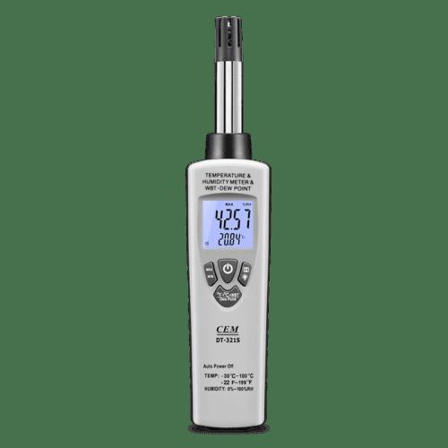 CEM DT-321 цифровой гигро-термометр