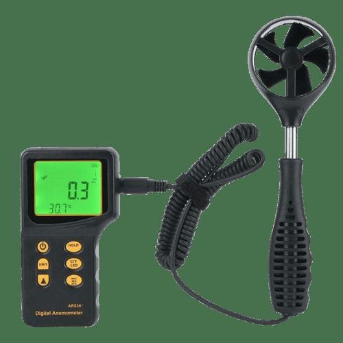 SMART SENSOR AR836 (анемометр с выносным датчиком, термометр)