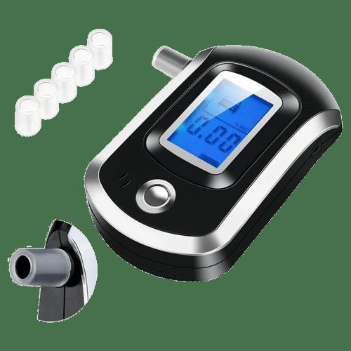 Алкотестер цифровой AMTAST AMT6000 со сменными насадками