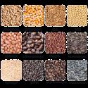 Влагомер для кофе AMTAST W65 виды измеряемого зерна