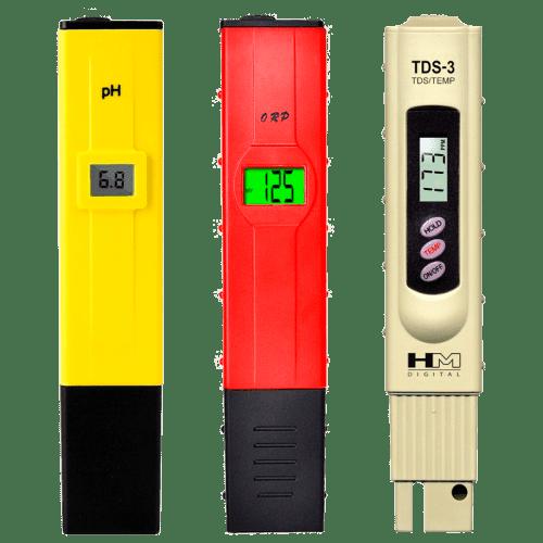 Базовый набор приборов для измерений pH, ОВП, TDS, °C