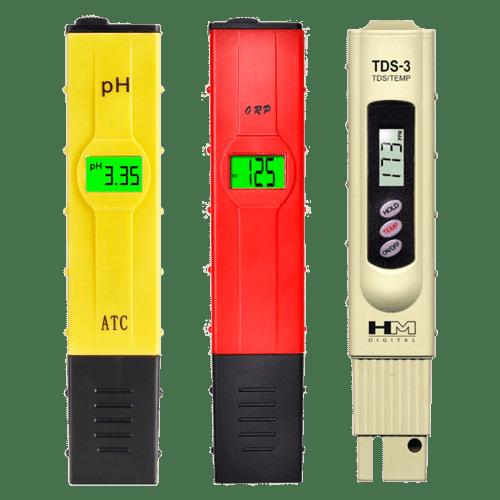 Стартовый набор приборов для измерений pH, ОВП, TDS метр