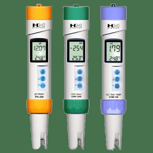 Набор профессиональных приборов pH, ORP, TDS метр, °C