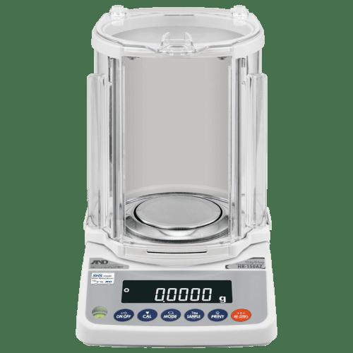 A&D HR-150AZG аналитические весы 152 г х 0,0001 г (вид спереди)
