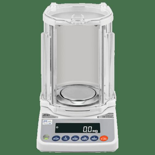 A&D HR-250AZG аналитические весы (вид спереди)