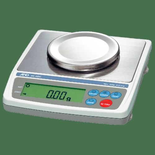 A&D EK-300i лабораторные весы 300 г х 0,01 г