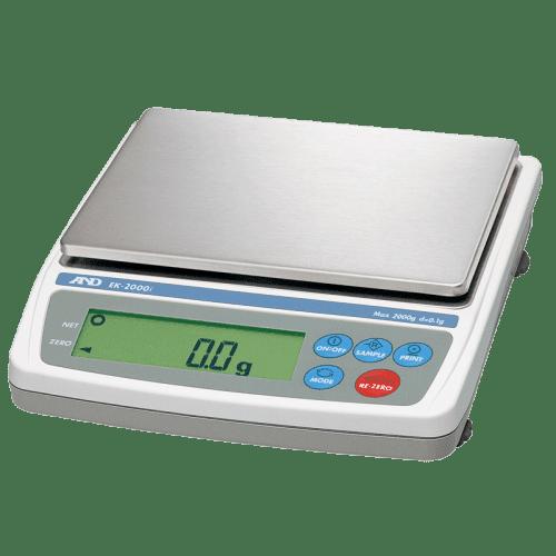A&D EK-2000i лабораторные весы 2000 г х 0,1 г
