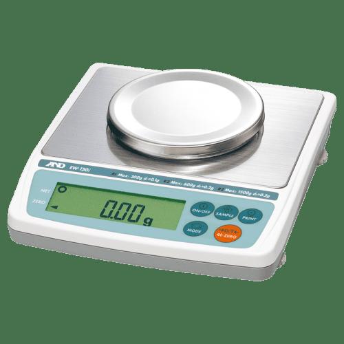 A&D EW-150i лабораторные весы 30/60/150 г x 0,01/0,02/0,05 г