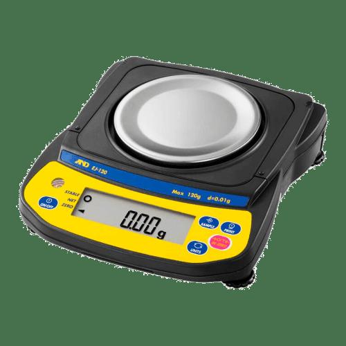 A&D EJ-120 лабораторные весы 120 г х 0,01 г