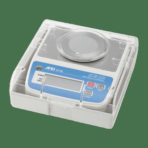 A&D HT-120 порционные весы в защитном кейсе