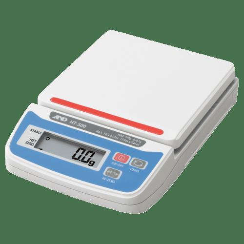 A&D HT-500 порционные весы пластмассовая площадка
