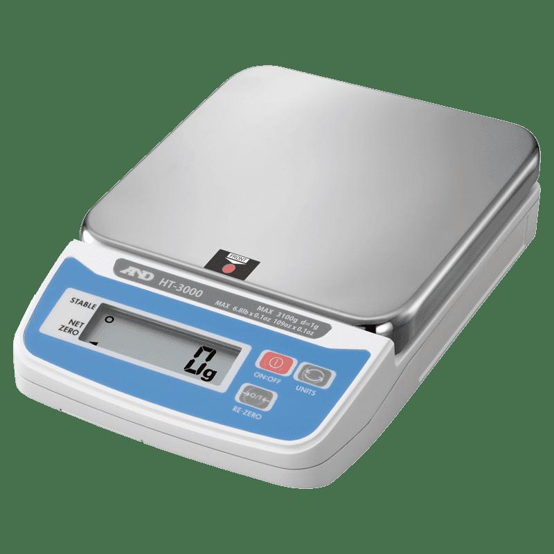 A&D HT-3000 порционные весы 3100 г х 1 г