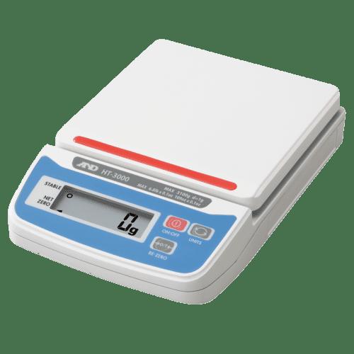 A&D HT-3000 порционные весы пластмассовая площадка