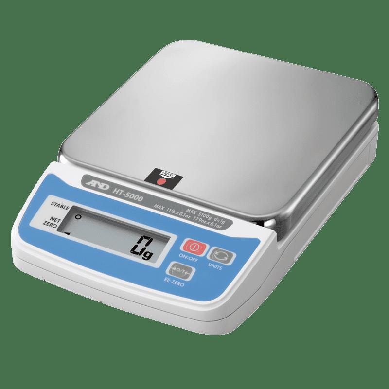 A&D HT-5000 порционные весы 5100 г х 1 г
