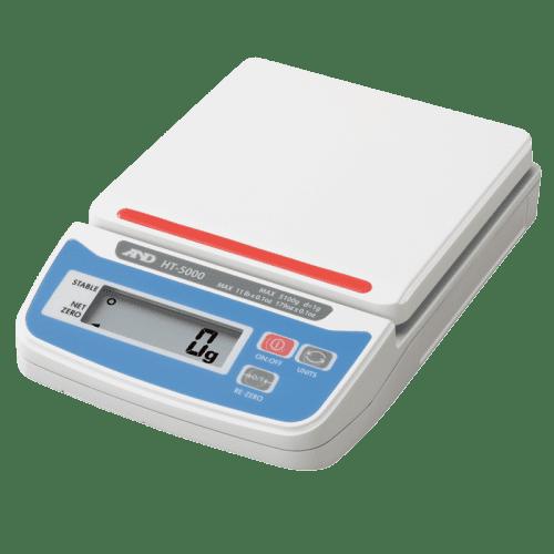 A&D HT-5000 порционные весы пластмассовая площадка