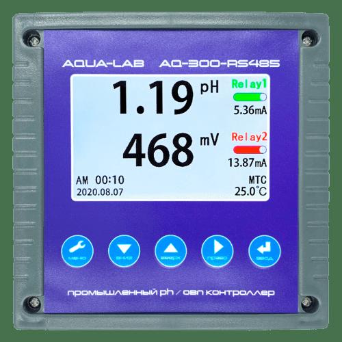 AQUA-LAB AQ-300-RS485 промышленный PH/ORP контроллер (без электродов)