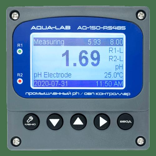 AQUA-LAB AQ-150-RS485 промышленный PH/ORP контроллер (без электродов)