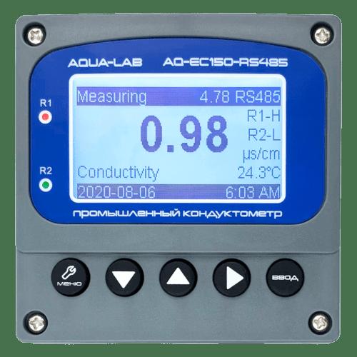 AQUA-LAB AQ-EC150-RS485 промышленный кондуктометр контроллер измеритель электропроводности