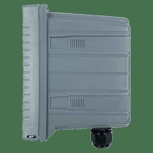 AQ-DO300-RS485 промышленный монитор оксиметр с электродом AQ-DO1-EL3 в комплекте (вид сбоку)