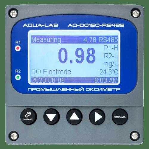 AQUA-LAB AQ-DO150-RS485 промышленный оксиметр контроллер с электродом AQ-DO1-EL3