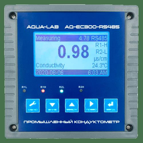 AQUA-LAB AQ-EC300-RS485 промышленный кондуктометр контроллер измеритель электропроводности