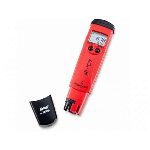 Hanna Instruments HI98128 pHep 5 влагозащищенный рН метр с термометром и сменным электродом