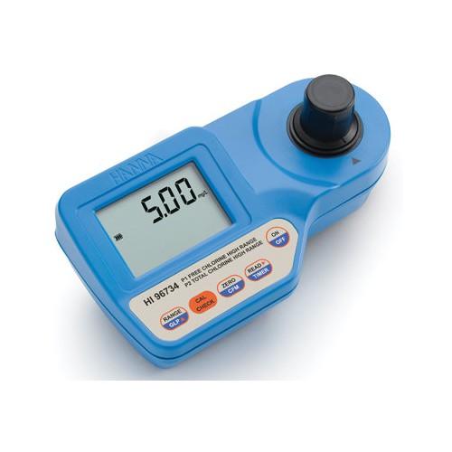 Hanna Instruments HI96734 колориметр на свободный/общий хлор, 0-10 мг/л (ГосРеестр)