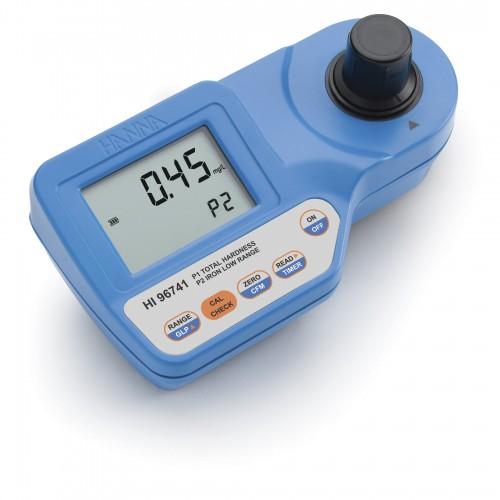 Hanna Instruments HI96741 колориметр на общую жесткость 0.00-4.70 мг/л, железо 0-400 мкг/л (ГосРеестр)