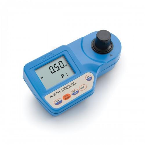 Hanna Instruments HI96711 колориметр на свободный/общий хлор, 0-5.00 мг/л (ГосРеестр)