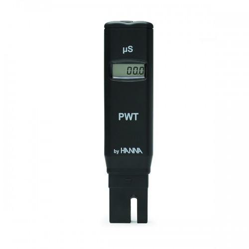 Hanna Instruments HI98308 PWT карманный кондуктометр для обесcоленной воды