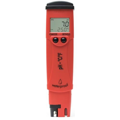 Hanna Instruments HI98127 pHep 4 влагозащищенный рН метр с термометром