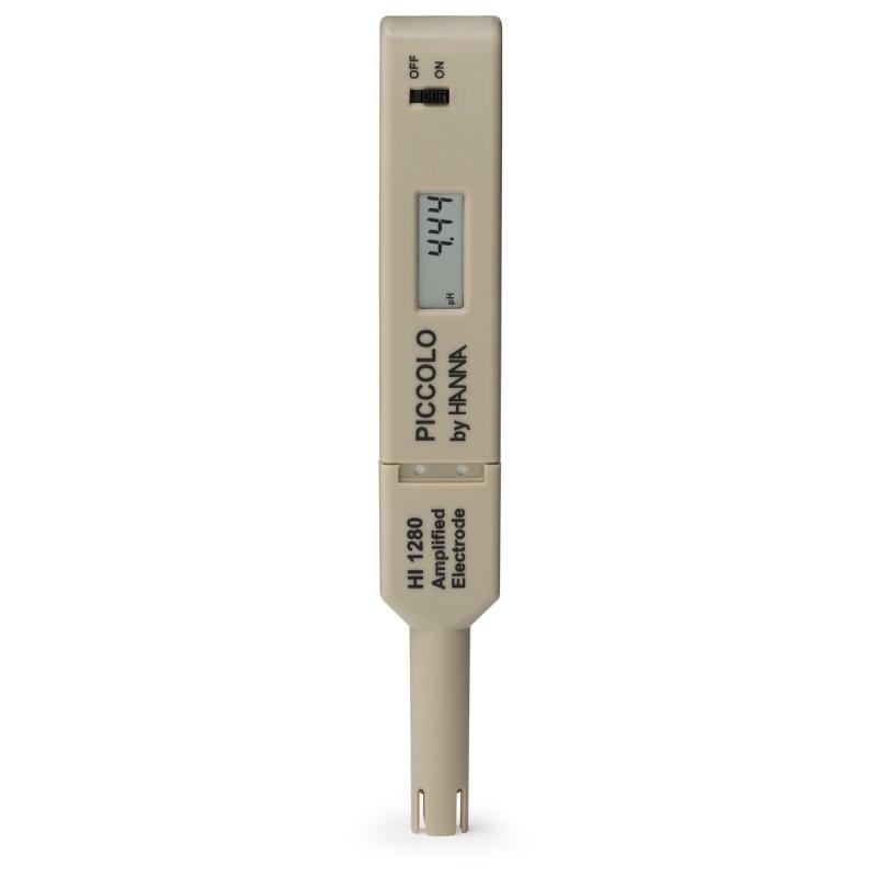 Hanna Instruments HI98111 Piccolo рН-метр с электродом 90 мм (ГосРеестр)