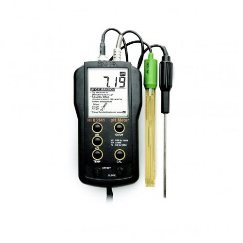 Hanna Instruments HI83141 рН/мВ/С-метр портативный (ГосРеестр)