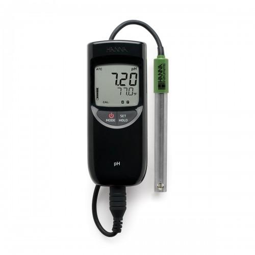 Hanna Instruments HI991001 влагозащищенный pH метр с термометром (ГосРеестр)