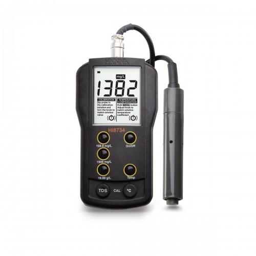 Hanna Instruments HI8734 портативный многодиапазонный кондуктометр (ГосРеестр)