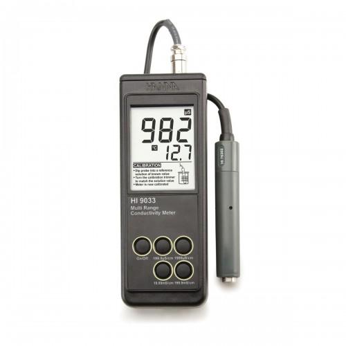 Hanna Instruments HI9033 портативный многодиапазонный кондуктометр (ГосРеестр)