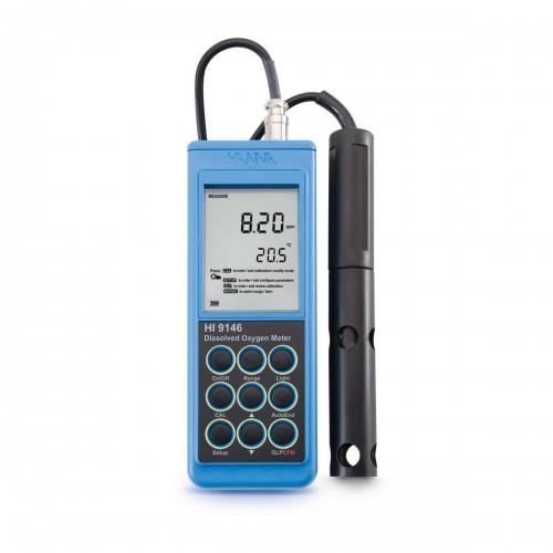 Hanna Instruments HI9146-04 портативный микропроцессорный оксиметр (ГосРеестр)