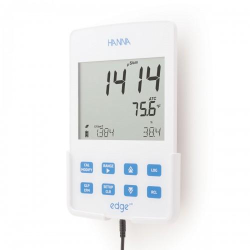Hanna Instruments HI2003-02 цифровой кондуктометр серии edge (ГосРеестр)