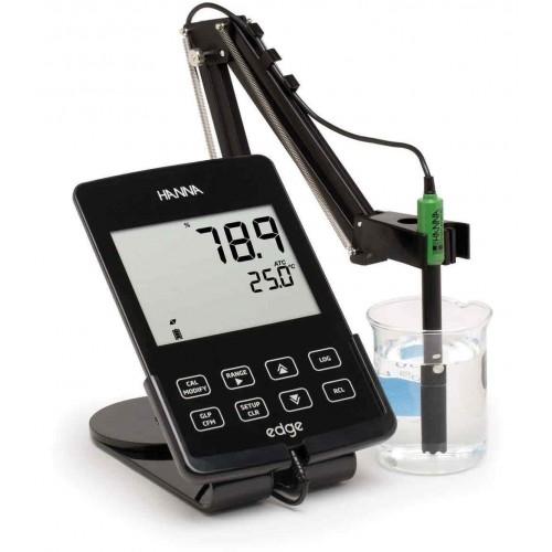 Hanna Instruments HI2040-02 edge универсальный прибор в комплекте с датчиком для измерения растворенного кислорода (ГосРеестр)