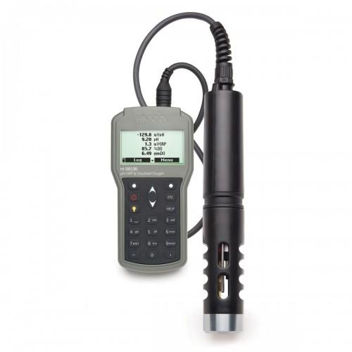 Hanna Instruments HI98196 портативный мультипараметровый измеритель рН/ОВП/кислорода