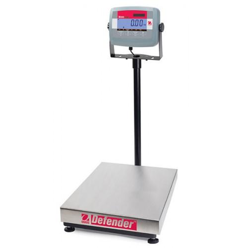 Платформенные напольные весы OHAUS Defender 3000 D31P300BX