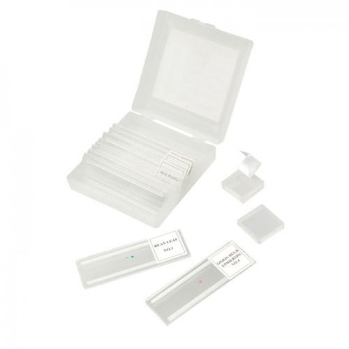 Микропрепараты Микромед 5 образцов + 5 предметных стёкол (пластик)