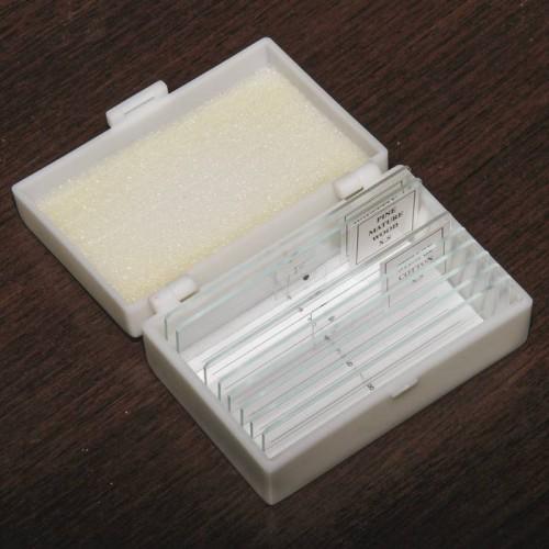 Микропрепараты Микромед 5 образцов + 5 предметных стёкол (стекло)