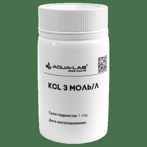 Раствор KCL 3 моль/л для хранения электродов pH и ORP 55 мл