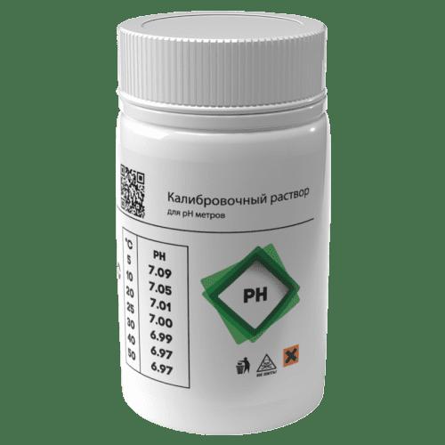 Калибровочный раствор AQUA-LAB PH-7 для калибровки электродов 55 мл (вид сбоку)