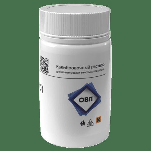 Калибровочный раствор AQUA-LAB ОВП 256мВ для калибровки платиновых электродов 55 мл (вид сбоку)