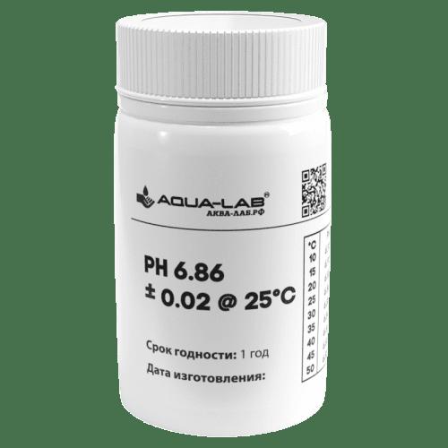 Калибровочный раствор AQUA-LAB PH-6.86 для pH электродов 55 мл