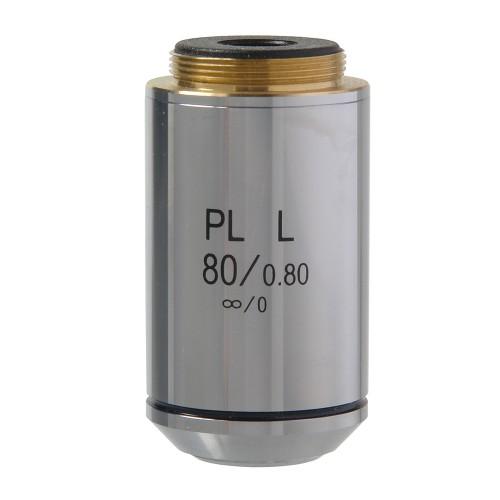 Объектив 80х/0,80 PL L POL беск/0 1.25 мм для Микромед Полар