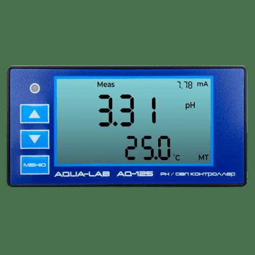 Промышленный PH/ORP метр Aqua-Lab AQ-125