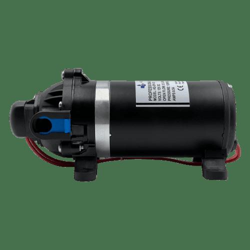 AQUA-LAB AQ-DP-120B диафрагменный насос для воды (5.5 л/мин, 24В) вид сбоку